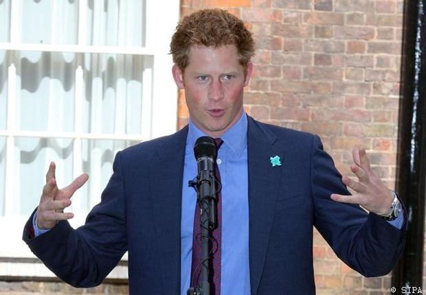 Prince Harry :  La frre de William a la cote
