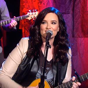 "The Talk - Brandy Clark Sings ""Stripes"" Live"