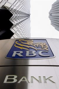 The Royal Bank of Canada offices in Toronto are seen on Thursday March 1, 2011. The Royal Bank confirms a deal to acquire the Canadian auto finance and deposit business of Ally Financial Inc. THE CANADIAN PRESS/Chris Young.