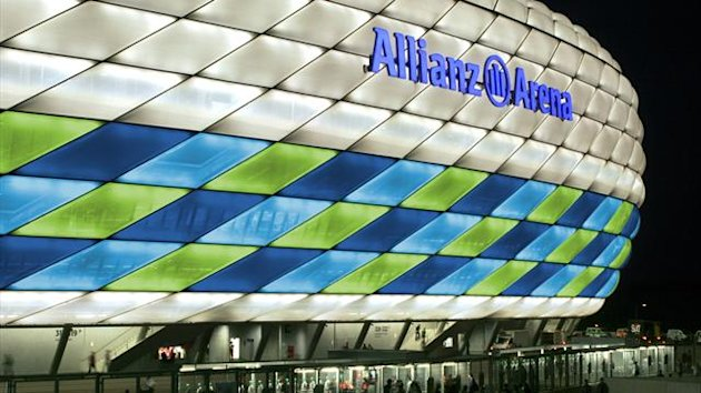Allianz Arena Champions League final 2012