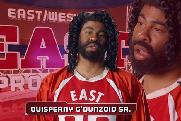 Key & Peele's 'East/West Bowl 3′ Gets Crashed by Real NFL Stars With Absurd Names (Video)