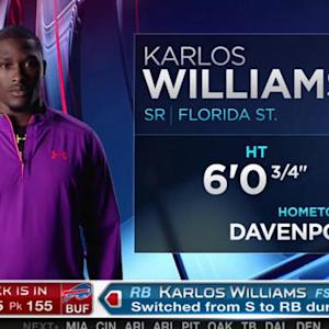 Buffalo Bills pick running back Karlos Williams No. 155 in 2015 NFL Draft