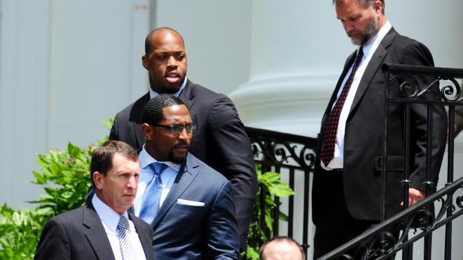 NFL: Baltimore Ravens-White House Visit