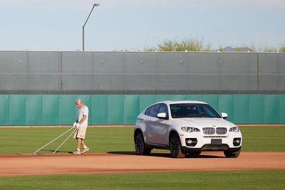 Cleveland Indians players prank shortstop by parking his car on the field