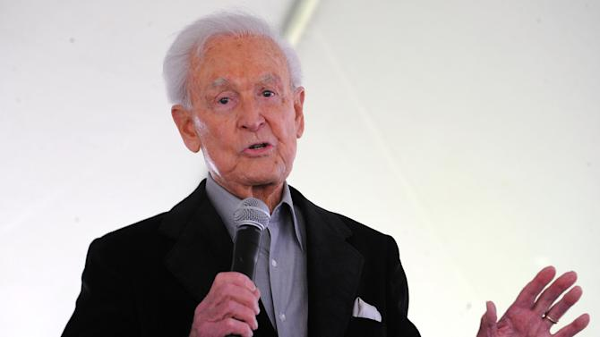 """FILE - This April 25, 2009 file photo shows Bob Barker attending The Los Angeles Times Festival of Books at The University of California Los Angeles, in Los Angeles, Calif. Barker, former host of """"The Price is Right,"""" will celebrate his 90th birthday with an appearance on the game show Dec. 12, 2013. (AP Photo/Katy Winn, File)"""