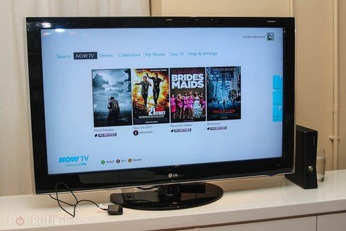 More YouView films with Now TV arrival