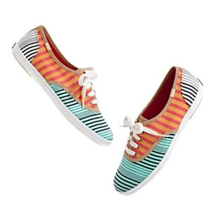 Mixed Stripe Sneakers