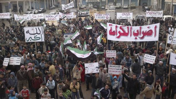 Syria's Uprising Becomes an Insurgency