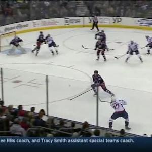 Curtis McElhinney Save on Karl Alzner (16:03/1st)