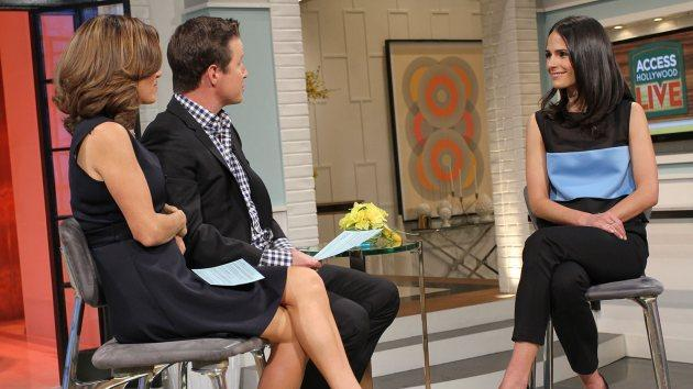 Jordana Brewster stops by Access Hollywood Live on April 9, 2014 -- Access Hollywood
