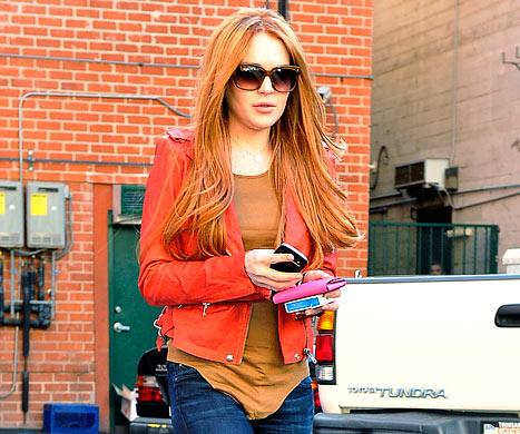 Why Lindsay Lohan Went Red Again
