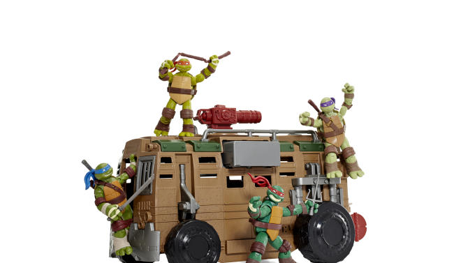 This product image released by Good Housekeeping shows the Playmates Shellraiser toy with Teenage Mutant Ninja Turtles, sold separately. The Playmates Shellraiser  has made it onto the Good Housekeeping's annual Best Toys list for 2012. Engineers reviewed hundreds of toys for safety and educational merits. But the true test comes from 140 kids, ages 3 to 13, who play with the top 135 new toys at the magazine's product-testing laboratory in New York. (AP Photo/Good Housekeeping, Marko Metzinger of Studio D)