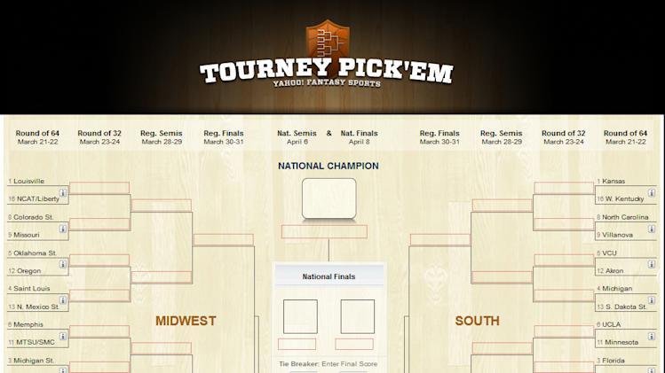 Yahoo! Sports Tourney Pick'em