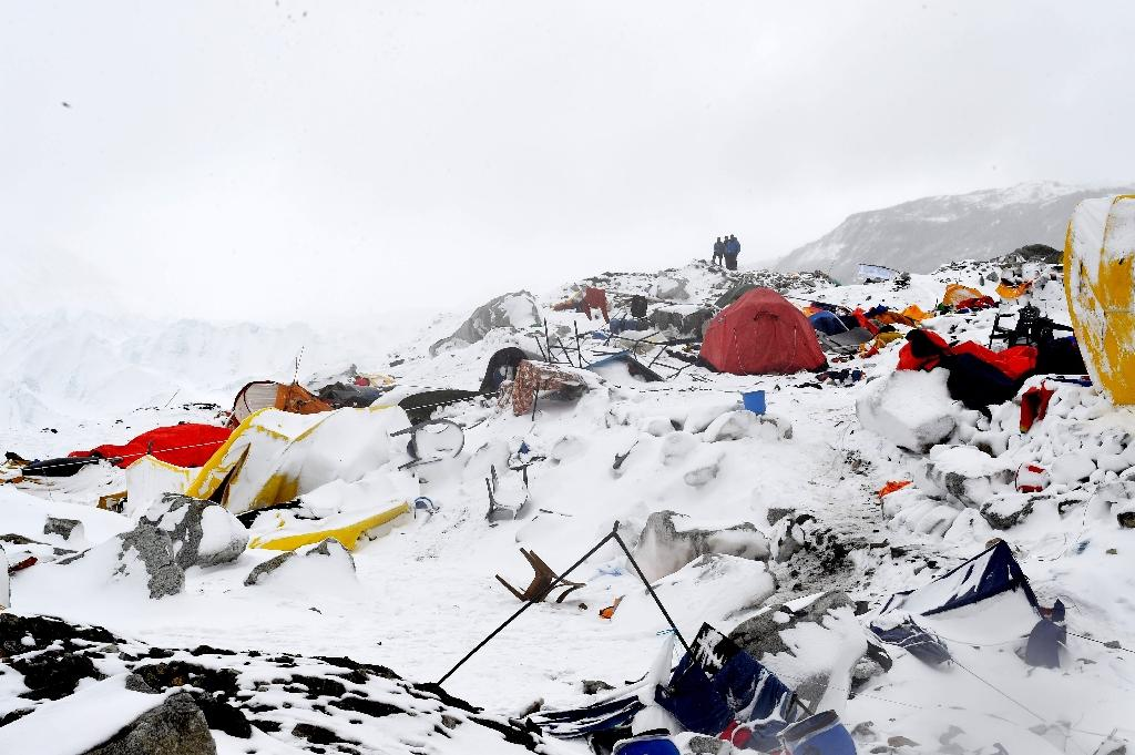 Robbery saved 9 Greek climbers from Nepal quake