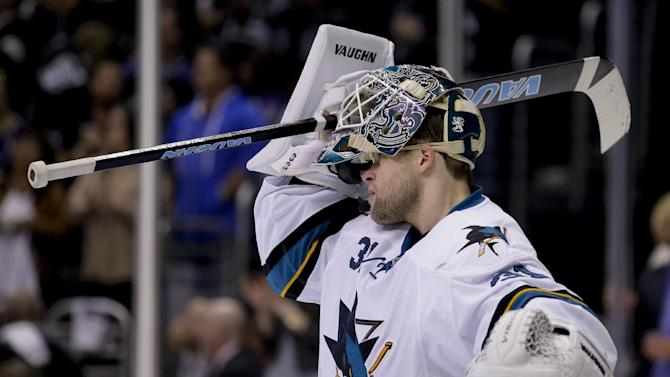 Sharks to start Niemi in goal for Game 7