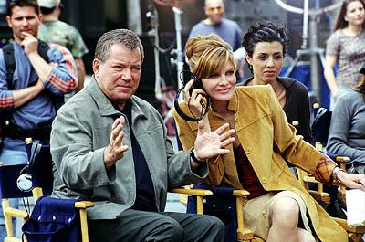 William Shatner , Rene Russo and Drena De Niro in Warner Brothers' Showtime