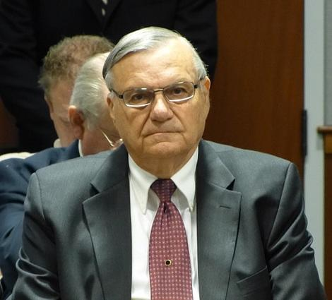 Maricopa County, Arizona Sheriff Joe Arpaio traveled to New Hampshire to endorse Rick Perry for President