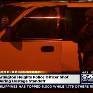 SWAT Team Kills Suspect Who Shot Cop