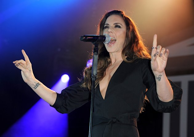 DUESSELDORF, GERMANY - NOVEMBER 19:  Melanie C .attends UNESCO Charity Gala 2011 at Maritim Hotel on November 19, 2011 in Duesseldorf, Germany.  (Photo by Christian Augustin/WireImage)
