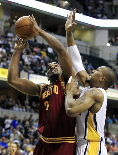 Pacers beat Cavs 102-83 to clinch playoff spot