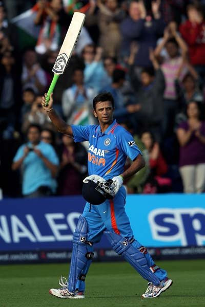 When he retired from ODIs, Dravid had played 344 games where he scored 10889 runs at an average of 39.16.