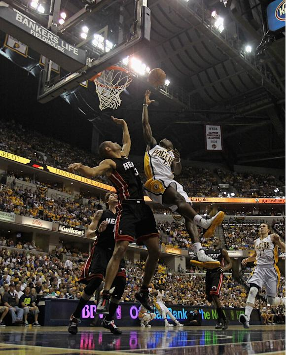 Miami Heat v Indiana Pacers - Game Four