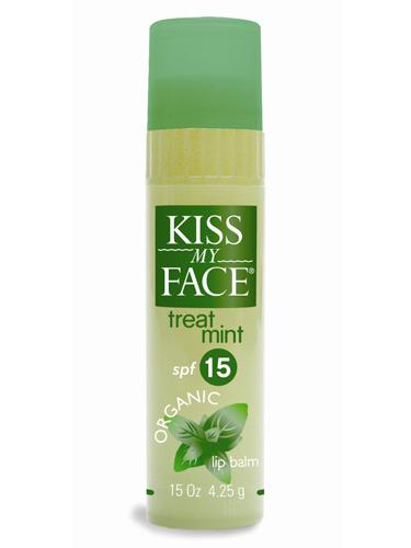 # 3: Kiss My Face Treat Mint SPF 15 Organic Lip Balm