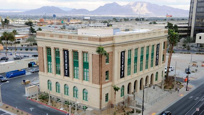 A general view of The Mob Museum is seen on February 13, 2012 in Las Vegas, Nevada