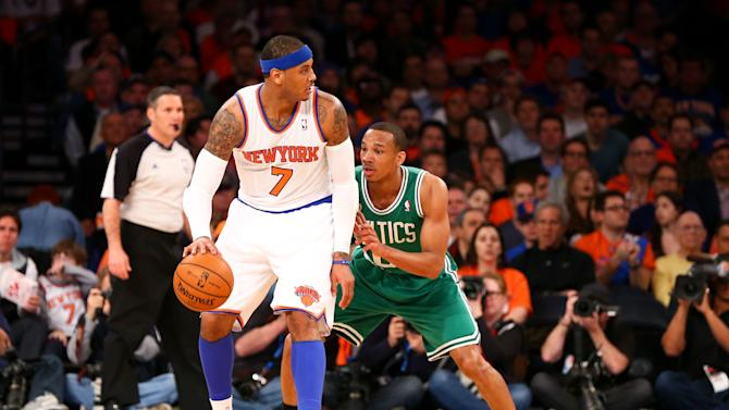 NBA: Playoffs-Boston Celtics at New York Knicks