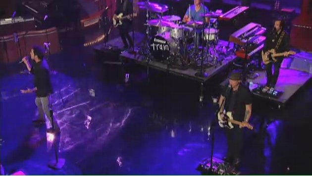 Live on Letterman - Train