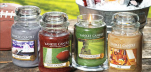 Yankee Candle's new Man Candle line.