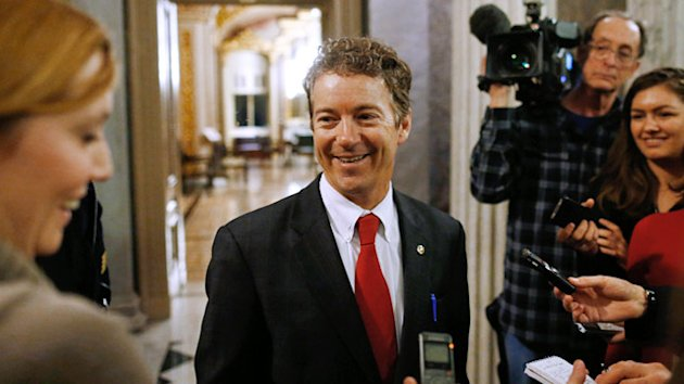 Eric Holder Gives Rand Paul One Word; McCain and Graham Blast 'Ridiculous' Filibuster (ABC News)