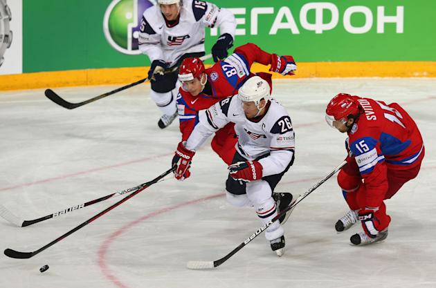 Russia v USA - 2013 IIHF Ice Hockey World Championship