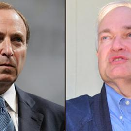 Gary Bettman and Don Fehr Getty Images