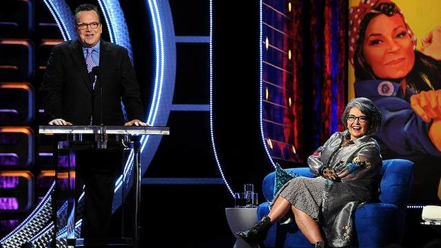 Tom Arnold Crashes Roseanne Roast
