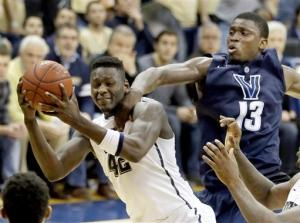 No. 23 Pitt slips by Villanova 73-64 in overtime