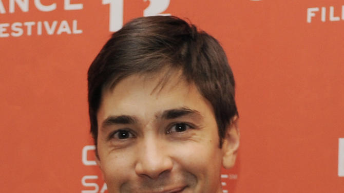 """FILE - In a Sunday, Jan. 22, 2012 file photo, Justin Long, a cast member in """"For a Good Time, Call...,"""" poses at the premiere of the film at the 2012 Sundance Film Festival in Park City, Utah. Producers of the Broadway play """"Seminar"""" announced Thursday, March 1, 2012 that Long, making his Broadway debut, will join Jeff Goldblum on April 3 for eight weeks as a new cast takes over at The Golden Theatre.    (AP Photo/Chris Pizzello, File)"""