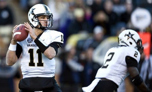 Rodgers leads Vanderbilt over Wake Forest 55-21