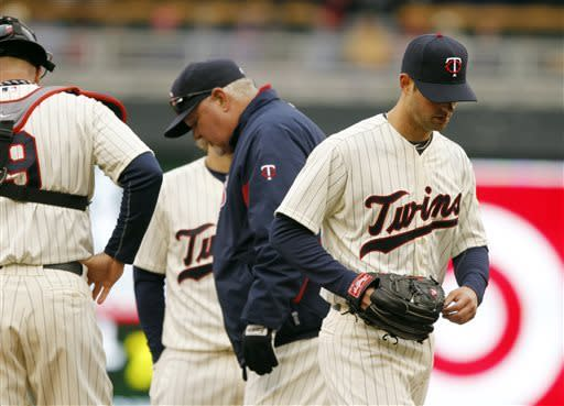 Harvey no-hits Twins into 7th as Mets win 4-2