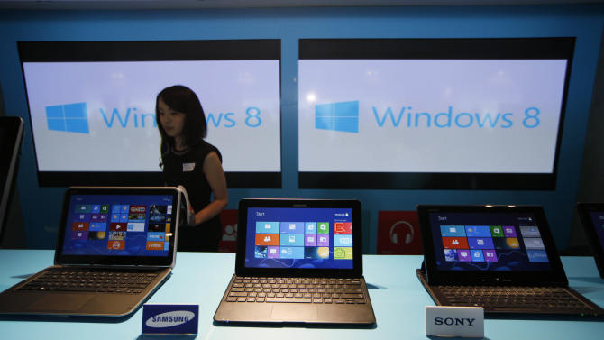 Investors dump Microsoft, PC stocks on bleak news