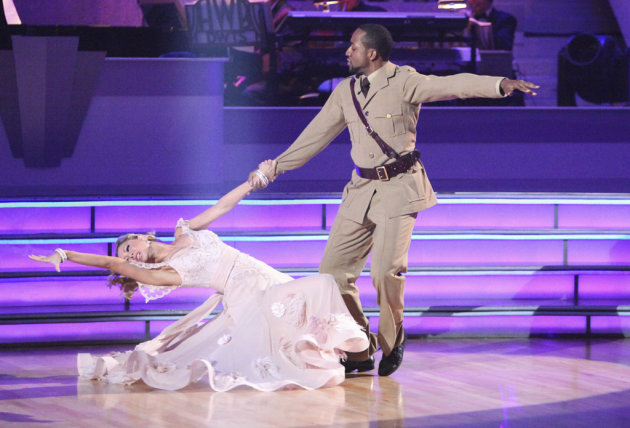 Kym Johnson and Jaleel White …