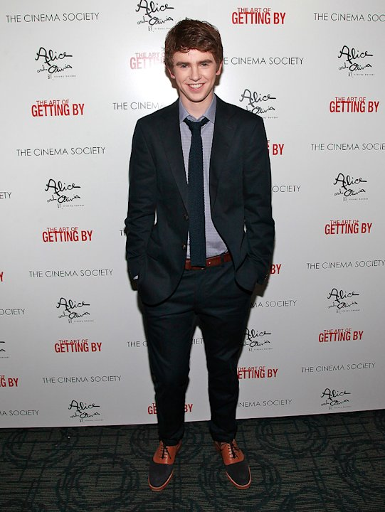 The Art of Getting By NYC Premiere 2011 Freddie Highmore