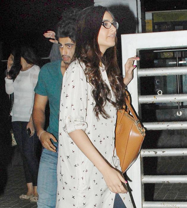 Sonam's night out with Arjun