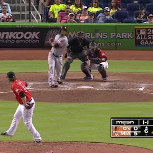 Paredes' sacrifice fly