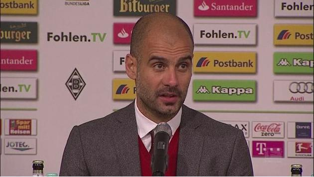 Guardiola pleased after Bayern beat Borussia Moenchengladbach in the Bundesliga