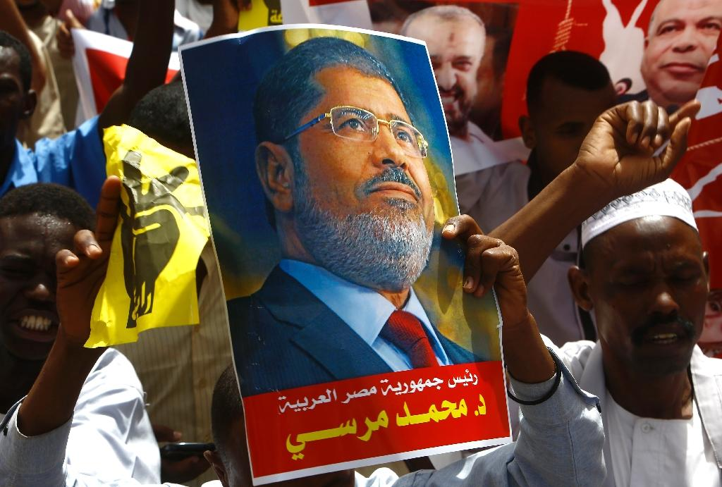 Sudan Islamists protest against Morsi death sentence