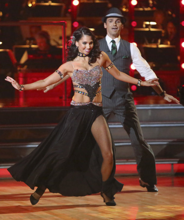 Melissa Rycroft and Tony Dovolani (9/24/12)