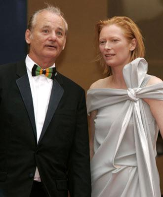 Bill Murray and Tilda SwintonBroken Flowers Premiere Cannes Film Festival - 5/17/05