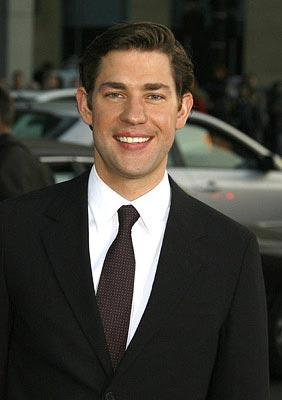 John Krasinski at the Los Angeles premiere of Universal Pictures' Leatherheads – 03/31/2008 Photo: Jeffrey Mayer, WireImage.com