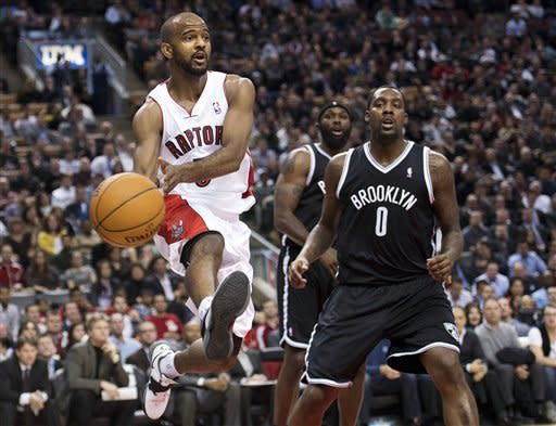 Johnson scores 23 as Nets beat Raptors 94-88